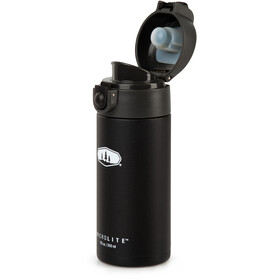 GSI Microlite 350 Flip Vacuum Bottle, black